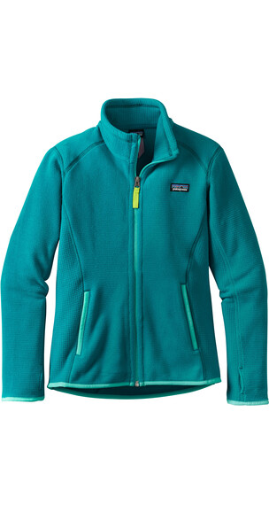 """Patagonia Girls Radiant Flux Jacket Elwha Blue"""